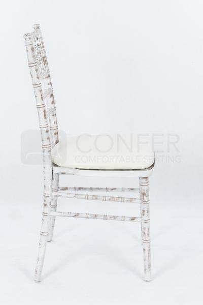 Chiavari stolička Limewash bukové drevo