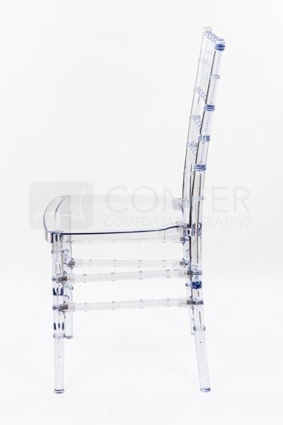 stolicka chiavari crystal transparentna