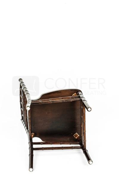 Chiavari stolička hnedá bukové drevo
